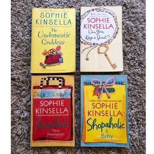 Sophie Kinsella shopaholic book collection